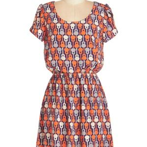 Acoustic Crooning Dress in 1X